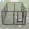 black heavy Duty pet playpen dog exercise pen cat fence