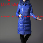 ladies elegant down coat high quality long down coat fashion new coat women