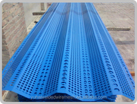 High quality blue twin type Windbreak Wall ,Dust Proof Net with competitive price(Manufacture)