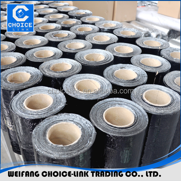 Modified bitumen self adhesive flashing tape for waterproofing