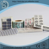Eco-friendly self adhisive printing label,full colors printed label for packaging