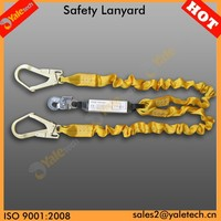 YL-E524 custom carabiner lanyard/retractable lifeline/rescue lighting rope
