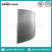 flat wedge wire screen panel/plate for rubber roller-head extruder system