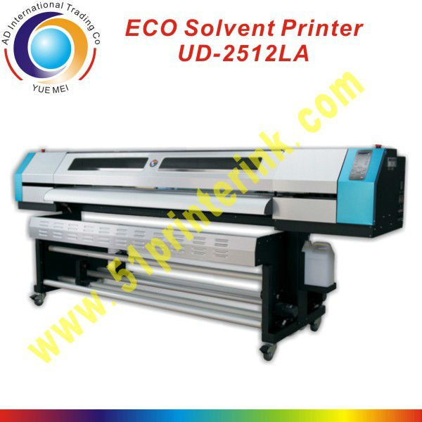 best quality phaeton eco solvent printer 2512LA