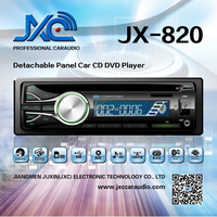 New 2014 car DVD/CD player one din detachable panel universalJX-820