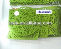 Table Mat,Laser Cut Bright Colored Fabric