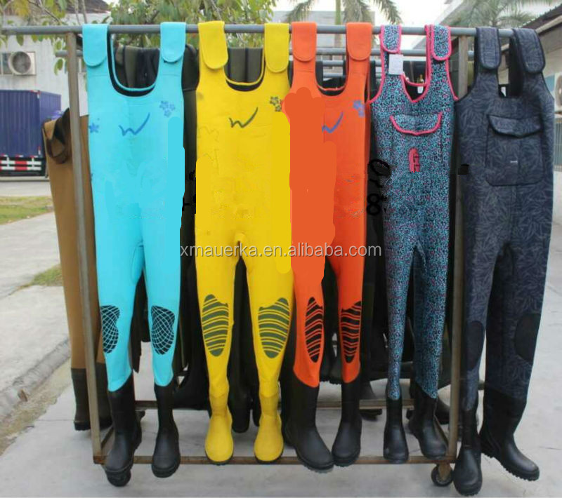 Custom made neoprene fly fishing hunting chest waders high quality