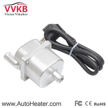 110V Engine Coolant Heater in car