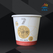 2-40oz Disposable Paper Cup/Ice cream Cups with Lids