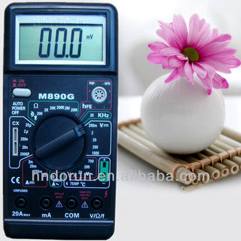 Large LCD display M890G Digital Multimeter