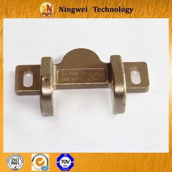 Aluminum bronze rail traffic machinery foundry casting parts accoding to drawing