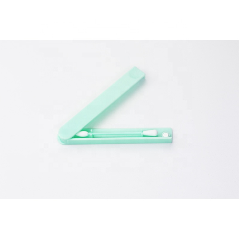 make up cleaning reuse silicone  swab Q tip