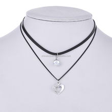 Jewelry Wholesale China Love Heart Necklace Jewelries For Ladies