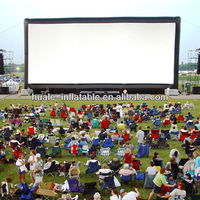 New Brand HOT Sales Drive-in Outdoor Movie Inflatable screen