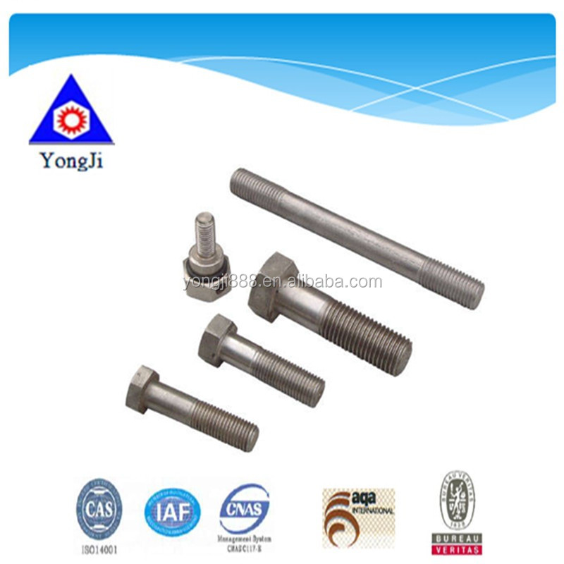 customized nonstandard different types nuts bolts with high quality