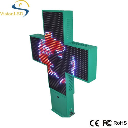 LED clinique Cross Display led edit software for pharmacy