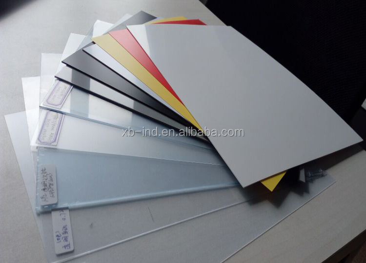 Bright Colored Rigid pvc sheet High Quality