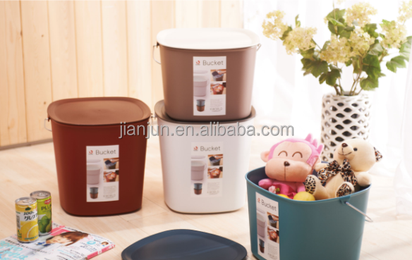Hot selling Cheap plastic storage box&buckets with lids for kitchen
