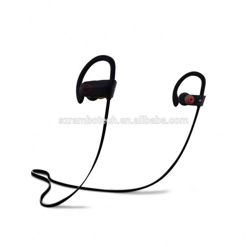 new sport stereo bluetooth earphone with working range 10m standby time 240Hrs sport bluetooth earbuds
