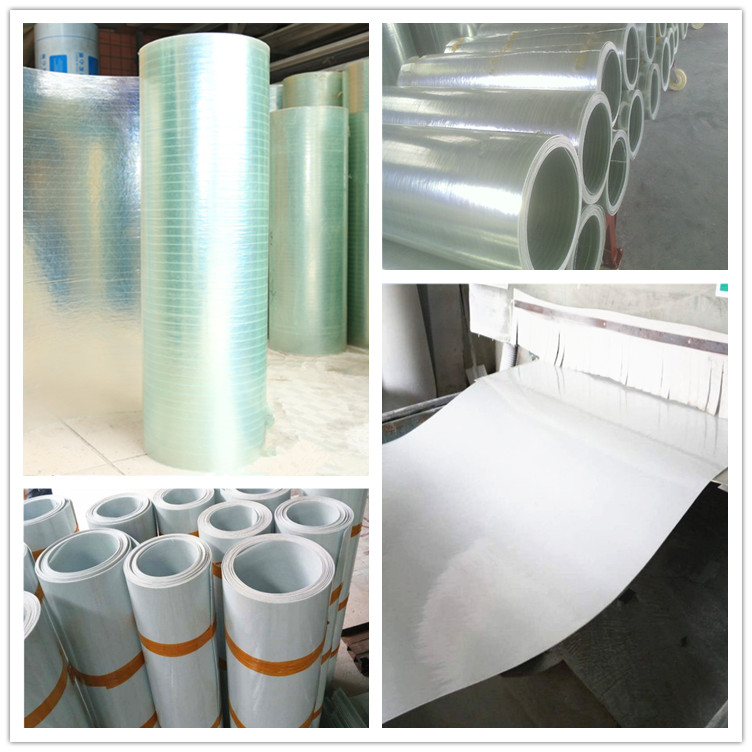 fiberglass flat sheet transparent plastic sheet roll