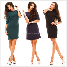 AL1025W Fashion plus size women summer dress all types of ladies dresses
