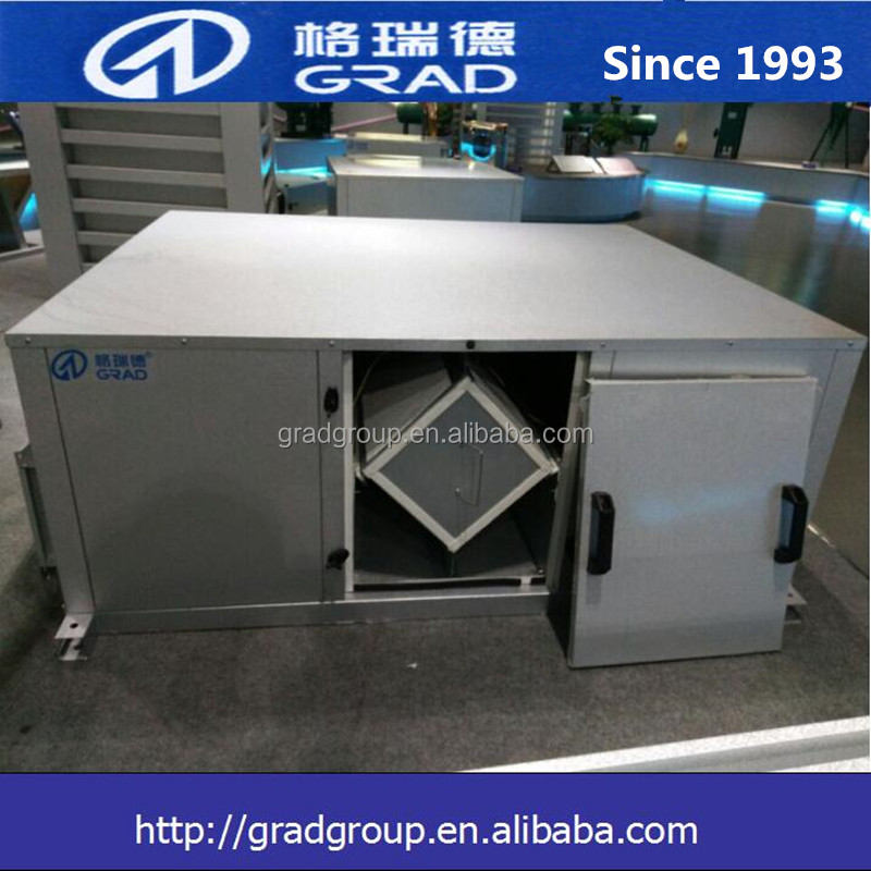 Central air conditioning system,heat recovery fresh air handling air control unit