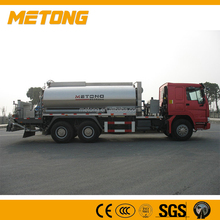 High End 12000L Automatic 6000 liquid bitumen sprayer truck