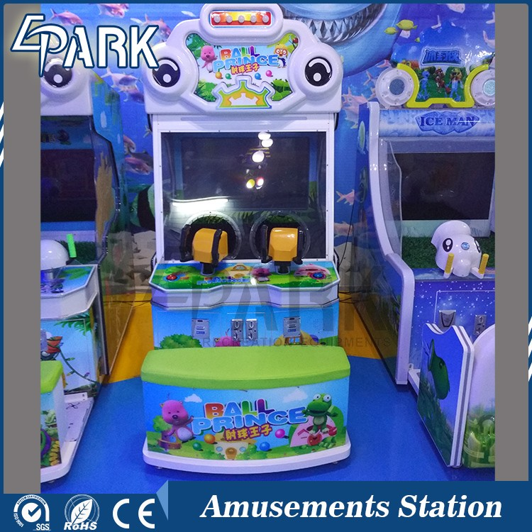 Children amusement park equipment Happy soccer shooting game machine