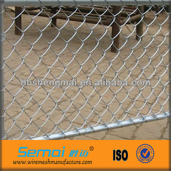 11 Gauge Chain Link Fencing/Electro Zinc Coating Fence/Eastern Diamond Fence(ISO9001;Manfacture)