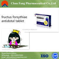 ChanFang VC Yinchiao Tablet/ cold cough Fever headache Sore throats