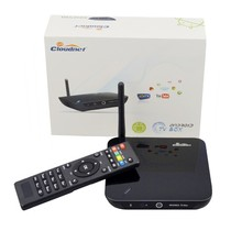 2015 Hot sales Cloudnetgo OEM Quad Core Rockchips 3188 Mali-400MP 1.6GHz 2G/8G Mali 400 GPU RK3188 Android TV BOX with camera