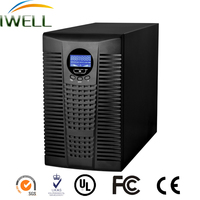 high frequency 1 phase lcd display online dsp ups 5 kva