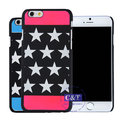 C&T Hard PC Shell Case Creative Star Pattern Mix Color Back Cover for iphone 6 plus 5.5 inch