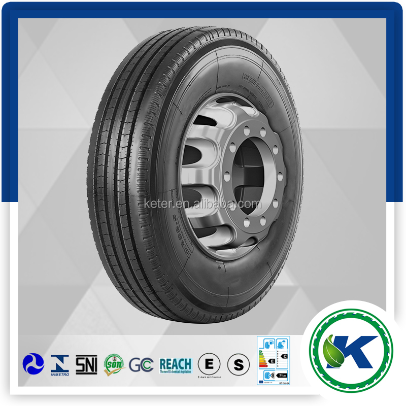 DOT Smartway Basoon Double Happiness USA hot sale TBR size 295/75R22.5 steer drive trailer truck tyre