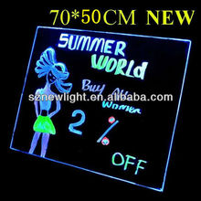 Newlight LED rewritable advertising sign boards