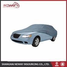 Fitting well grey color inflatable hail protection car cover