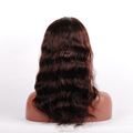 Wholesale Glueless 7A Full Lace Indian Human Hair Wigs For Black Ladays