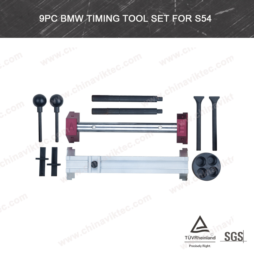 China Golden Supplier Auto tool 9pc Engine Timing Tool Set For BMW S54 workshop tool set(VT01741)