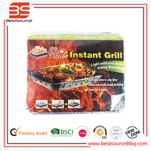 New arrival instant BBQ grill disposable BBQ grill