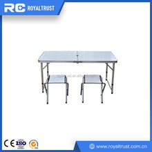 Space saving steel legs material banquet used folding tables for sale
