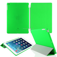 9.7 Inch 3 Folding Pattern High Quality Leather Case for Apple iPad Air