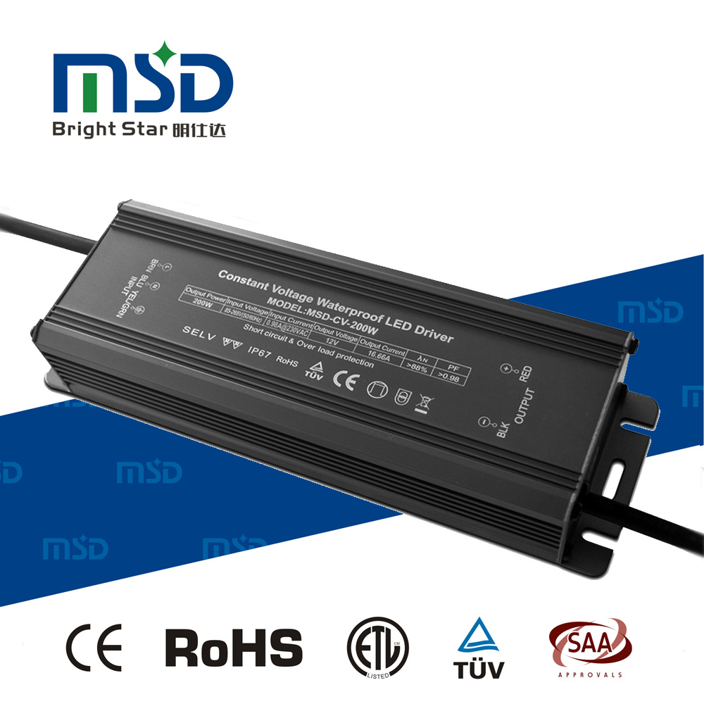 Five years warranty 12V 24V 36V output version ip65 led driver