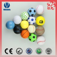 Hot sale Imprinted PU Stress Ball, Round Ball