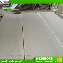 Paulownia Edge Glued Panels/Board