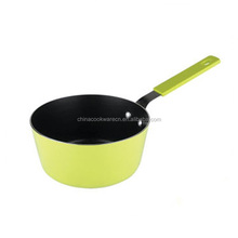 non-stick coating sauce pan cookware kitchen with straight handle