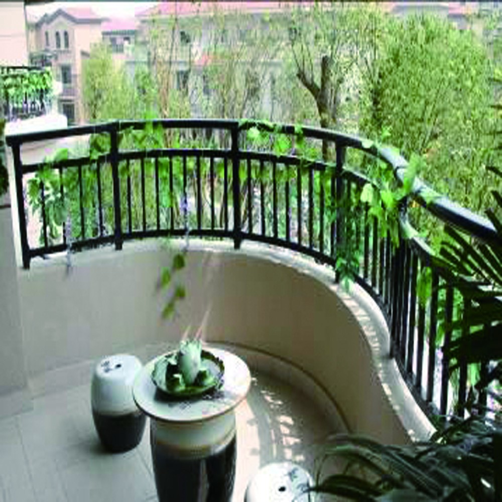 Alibaba aluminum and steel balcony grill designs buy for Terrace design with grills
