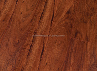 Click system cheap industrial HDF MDF laminate flooring