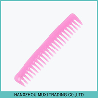 Wholesale retail cheap plastic hair loss infrared comb massager nit comb from OEM factory