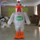 festival dress adult inflatable chicken mascot costume for sale