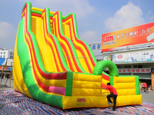 10 M high giant inflatable slide inflatable jumping slide adult large inflatable slides for sale